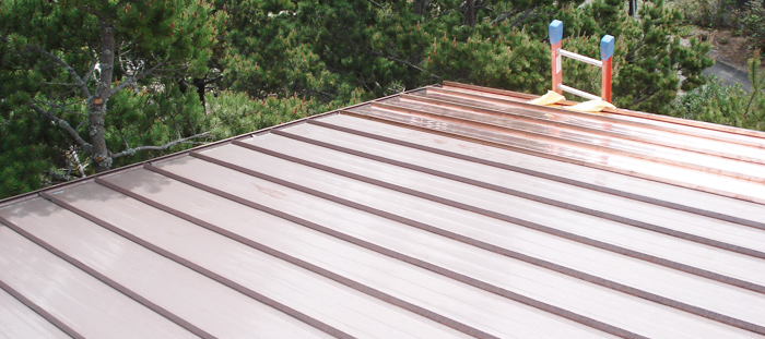 Copper Residential Roof